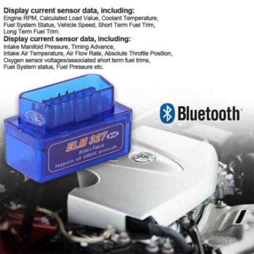 ELM327 V2.1 Bluetooth OBDII Car 2020 New Tool OBD2 Code Scanner Android Torque