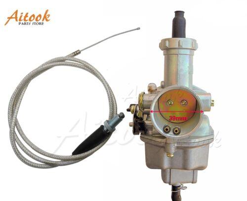 Carburetor Carb w// Throttle For Honda XR100R XR200R XR200 XR1000 XL100S CRF100F