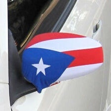 NIB Car Bra Rican *FREE S//H* Puerto Rico Flag Side View Mirror Covers Set of 2