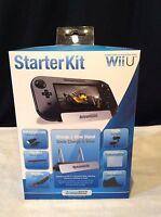 Dreamgear Nintendo Wii U 7 In 1 Starter Kit Stylus Hdmi Strap Stand Earbuds