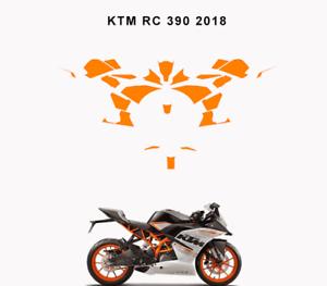 KTM duke 125//390 2017-2018 Graphics vector template customizable