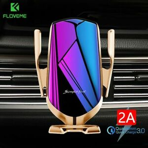 Infrared-Automatic-Clamp-Phone-Holder-Wireless-Charger-For-iPhone-11-Samsung-S10
