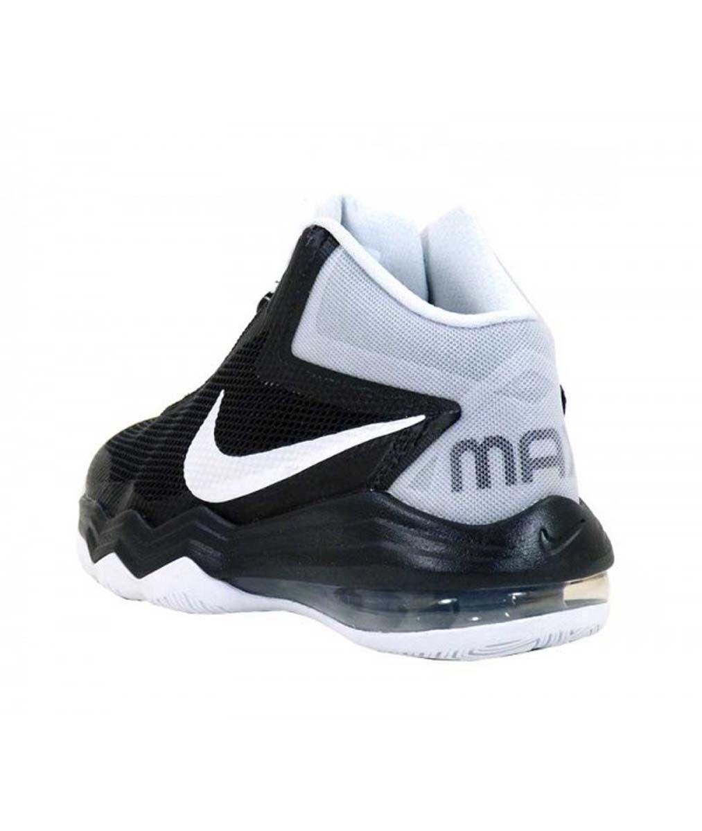 749166 nike air max audacia uomini neri basket scarpe alte scarpe 10