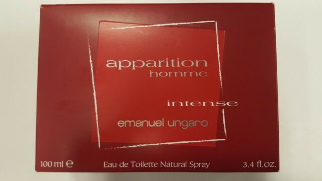 APPARITION HOMME INTENSE by Emanuel Ungaro 3.4 oz Eau De Toilette Spray NIB