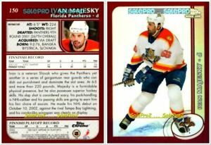 TOPPS-CHROME-2002-IVAN-MAJESKY-RC-FLORIDA-PANTHERS-MINT-ROOKIE-REFRACTOR-150
