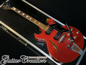 Vintage 1960's Firstman Broadway Special Electric Guitar With Soft Case