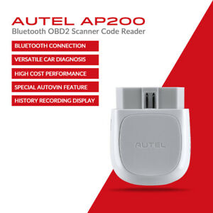 Details about Autel AP200 Clear Fault Code Reader OBD2 OBDII Diagnostic  Scan Tool BT APP MK808