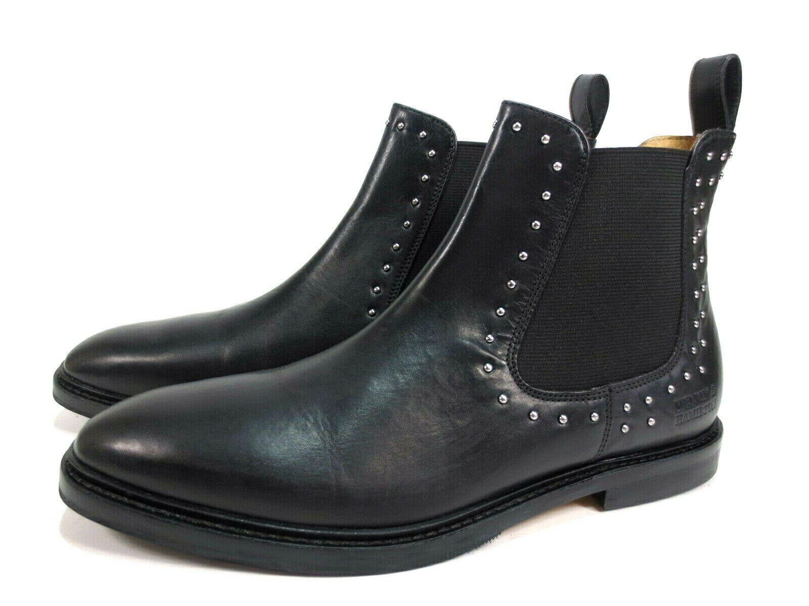 MELVIN HAMILTON Katrin Chelsea Stiefel Leder Schuhe Stiefeletten Gr. 41 NEU