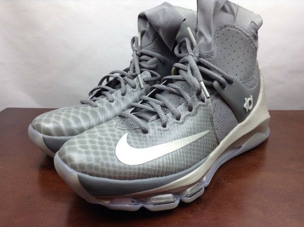 New Nike KD 8 VIII Elite High sleeve  Grey Comfortable The latest discount shoes for men and women