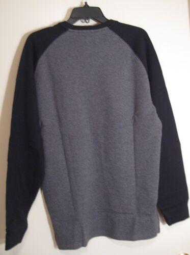 Polo Ralph Lauren Men/'s Waffle Knit Long Sleeve Shirt NWT Dark Gray /& Black