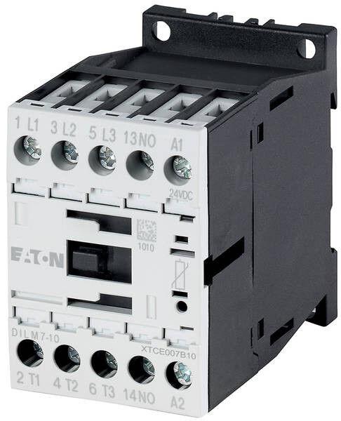 Moeller Leistungsschütz DILM12-01, 5,5kW, 24V DC, 3polig 3polig 3polig + 1Ö | Spielzeugwelt, glücklich und grenzenlos  6043a9