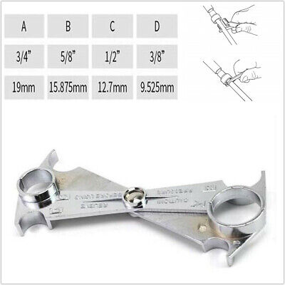 Auto Car SUV Spring Release Removal Tool For A//C Line Fuel Pipe Wrench 4 in 1