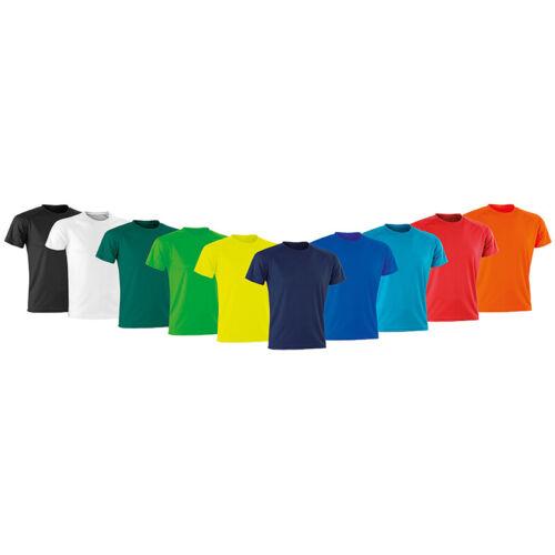 Spiro Junior Performance Aircool T S287J -Kids Short Sleeve Round Neck T-shirt