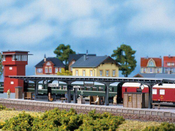 Auhagen 11376 Platform IN H0 Kit Brand New