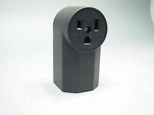 new cooper 50 amp welder receptacle connector 50a 250v 6. Black Bedroom Furniture Sets. Home Design Ideas