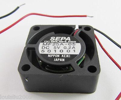 1pc SEPA MF15A-05 15x15x8mm 1508 DC 5V 0.08A Precision Mini DC Cooling fan