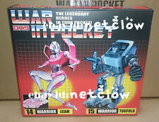Transformers DX9 toys War In Pocket X14 Leah X15 Toufold in Stock