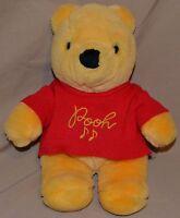 "11.5"" Winnie The Pooh Bear Plush Dolls Toys Stuffed Animals Sears Disney Gund"