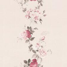 Tapetenbordüre Borte Blumen Ranken rosa taupe Petite Fleur 285528 39,73€//1qm