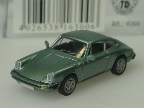 16300-1:87 Brekina Porsche 911 Coupe G-modelo 1976 verde lima metallic