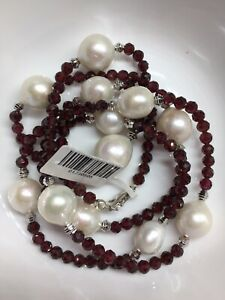 white-freshwater-pearl-garnet-crystal-stone-ssilver-925-fancy-necklace