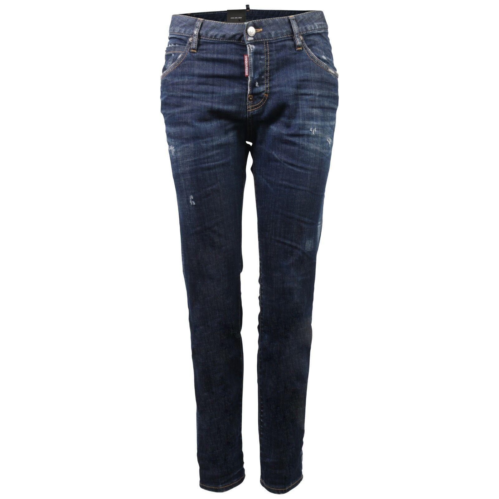 Woherren Dsquarot D2 Cool Girl Jeans blau DENIM GR IT 36 D 30  70940
