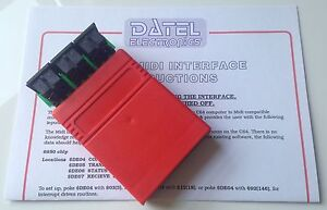 New-Commodore-64-128-Datel-MIDI-Interface-Cartridge-with-instructions