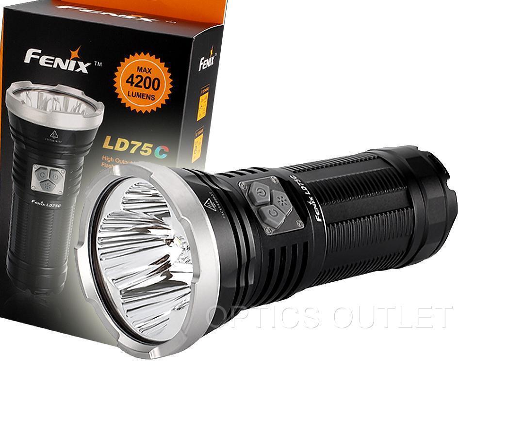 Fenix LD75C 4200 Lumens bianca rosso verde blu MultiColoreeeee LED Flashlight [ TK75 ]