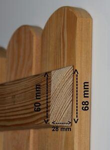 Zaunriegel Sibirische Larche Querriegel Holzzaun Zaunlatten Holz Ebay