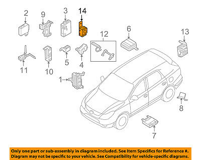 Genuine Hyundai 95710-2E000 Piezo Buzzer Assembly