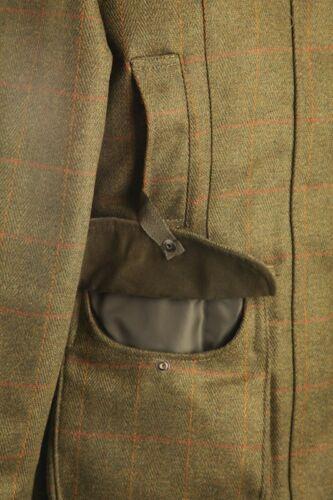Donna Tweed Cappotto//giacca con prova sparare//Ride Passeggiata Nuovo TG 8-20