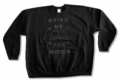 "BRING ME THE HORIZON ""HOLY BIBLE"" BLACK CREWNECK SWEATSHIRT NEW OFFICIAL ADULT"
