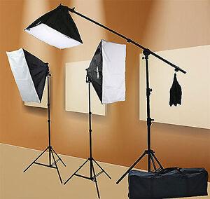Light-Kit-2400-Watt-Softbox-Lighting-Kit-Chromakey-Green-Screen-Lighting-Kit