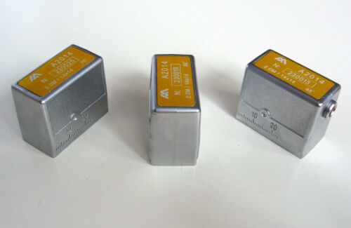 70º for Krautkramer SWB 60º 2.0MHz//14x14mm Angle Beam Transducers 45º