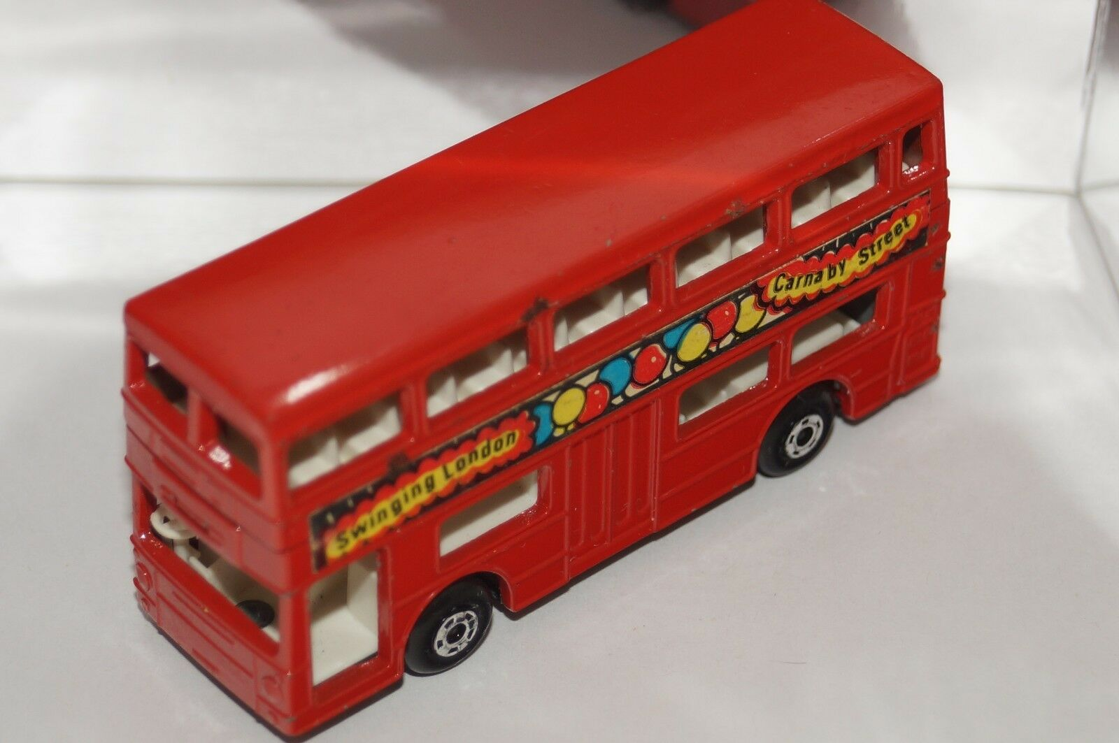 ORIGINAL Matchbox Superfast - The Londoner - No 17 - Red color - Swinging London