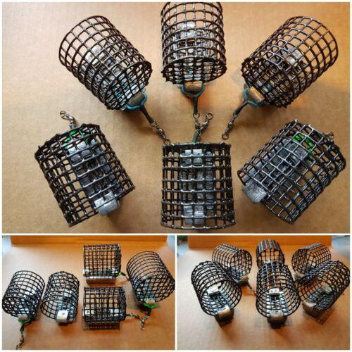 STD Cage Feeders Handmade River Trent NEW 5× 5oz + 5x 4oz 10off Top blockend