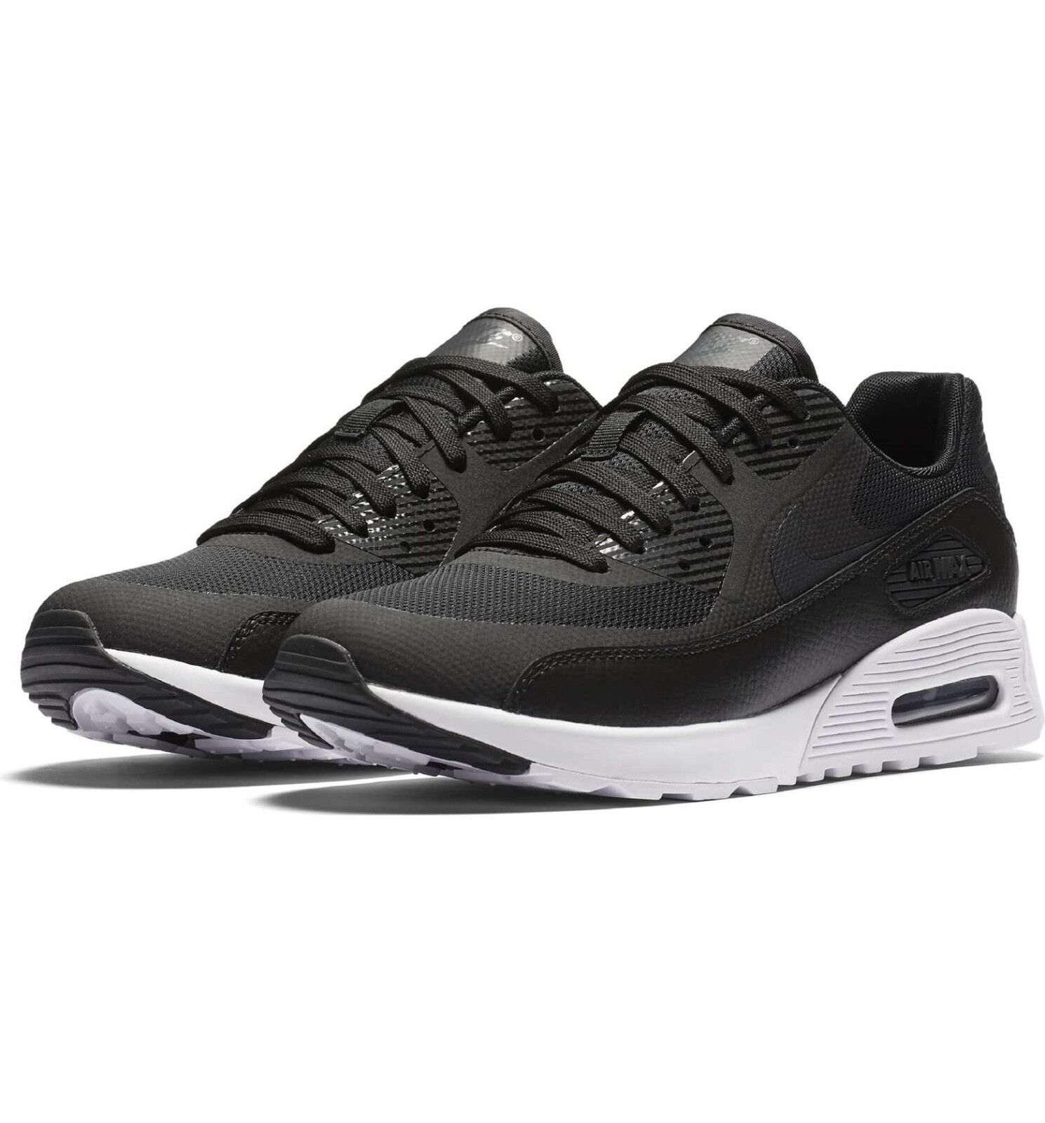 c7ffc1fddc Nike Women Air Max 90 Ultra 2.0 Sneaker Leather Black Running 6.5 881106-002  New