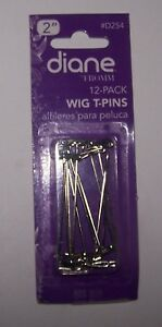 1-case-of-Diane-2-034-Long-Hair-T-Pins-for-Holding-Wig-to-Foam-Head-11-piece