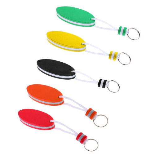 5pcs ovaler geformter EVA Schaum sich hin und herbewegender Schlüsselring