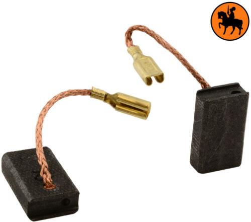0.20x0.39x0.63/'/' Balais de charbon pour Metabo Grinder WEP 14-150 Quick