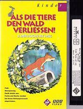 VHS Als die Tiere den Wald verliessen 3 - Der Fuchs ist weg - UFA