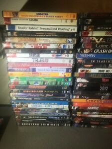 Collection-Lot-of-50-ASSORTED-DVDs-Movies-50-DVDs-NO-DUPES
