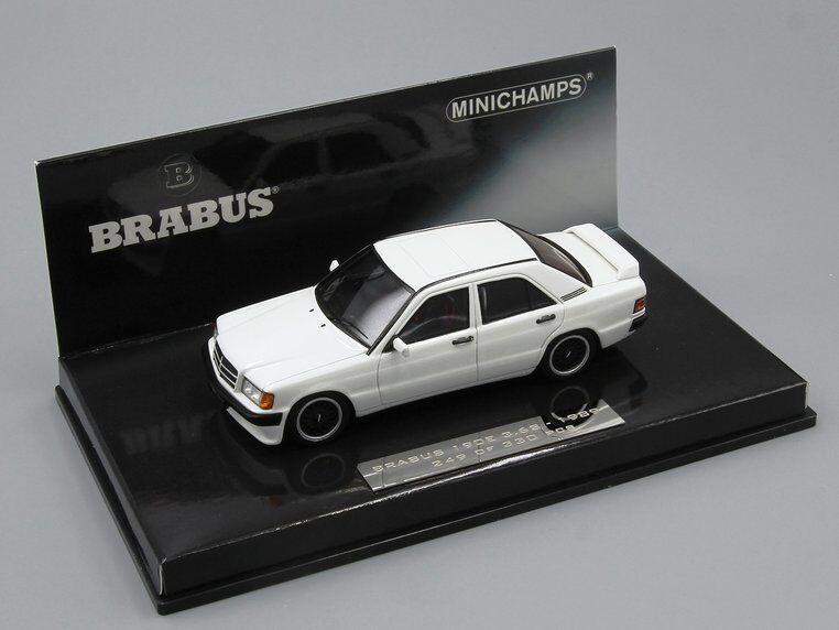 Minichamps 1 43  Brabus 190E 3.6S  1989 1989 1989  white 5d3bd0