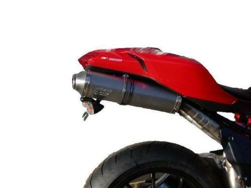 DUCATI 1098 Tail Tidy Black 2007-2009 by Evotech Performance