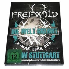 2 DVDs Frei.Wild - Die Welt Brennt RARE doppel DVD oi Broilers Onkelz