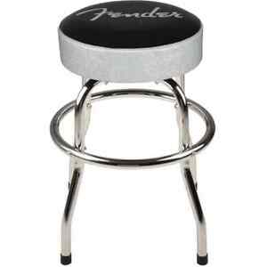 Brilliant Details About Fender Guitar Stool Silver Sparkle 24In Swiveling Bar Stool W Padded Seat Top Ocoug Best Dining Table And Chair Ideas Images Ocougorg