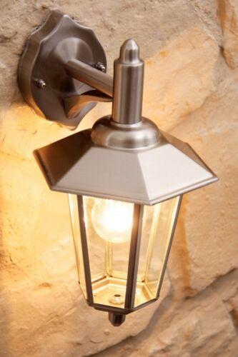 Wandlampe Edelstahl Aussenleuchte Aussenwandlampe Wandleuchte Aussenlampe Glas