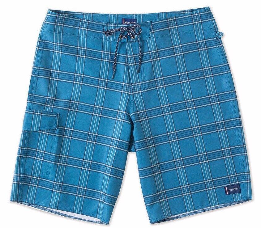 O'Neill COASTLINE Mens Polyester Stretch Boardshorts 32 bluee NEW