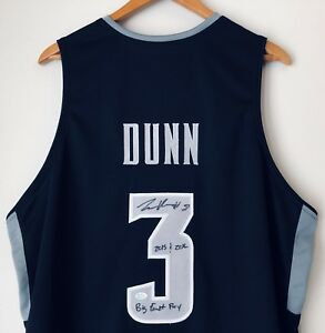 size 40 b0567 a5f84 Details about Kris Dunn Signed Providence Friars Autographed Basketball  Stat Jersey (Dunn COA)