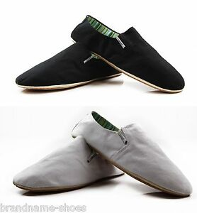 mens zasel cotton cheap canvas slip on casual s shoes